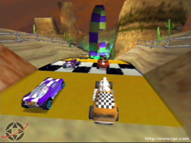 Nostalgic Video Game Review Hot Wheels Turbo Racing The