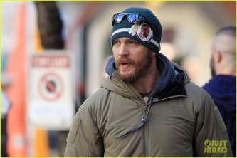 *EXCLUSIVE* Tom Hardy out n' about downtown Vancouver
