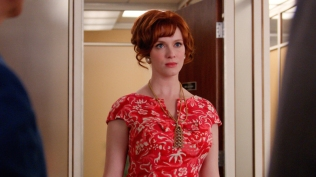 Christina Hendricks as Joan Harris - Mad Men _ Season 7, Episode 7 - Photo Credit: Courtesy of AMC