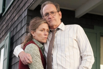 TV STILL -- DO NOT PURGE --  HBO miniseries -- OLIVE KITTERIDGE: Richard Jenkins, Frances McDormand. photo: Jojo Whilden