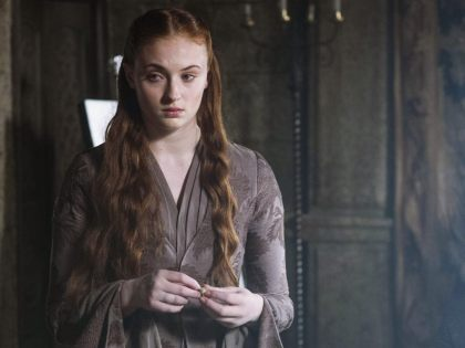 Sophie Turner In Game of Thrones Season 4 Wallpaper