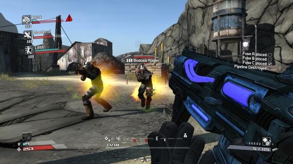 Borderlands-Gameplay